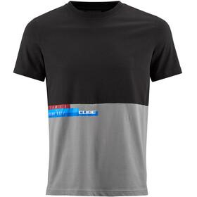 Cube Team T-Shirt Herr grå/svart